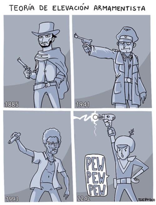 teoria de la evolucion de la carrera armamentista