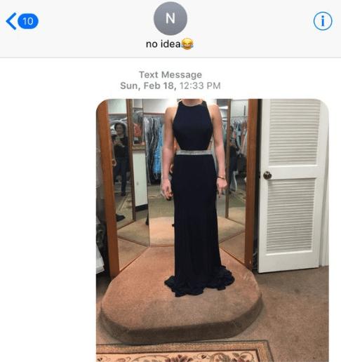 Clothing - i 10 no idea Text Message Sun, Feb 18, 12:33 PM