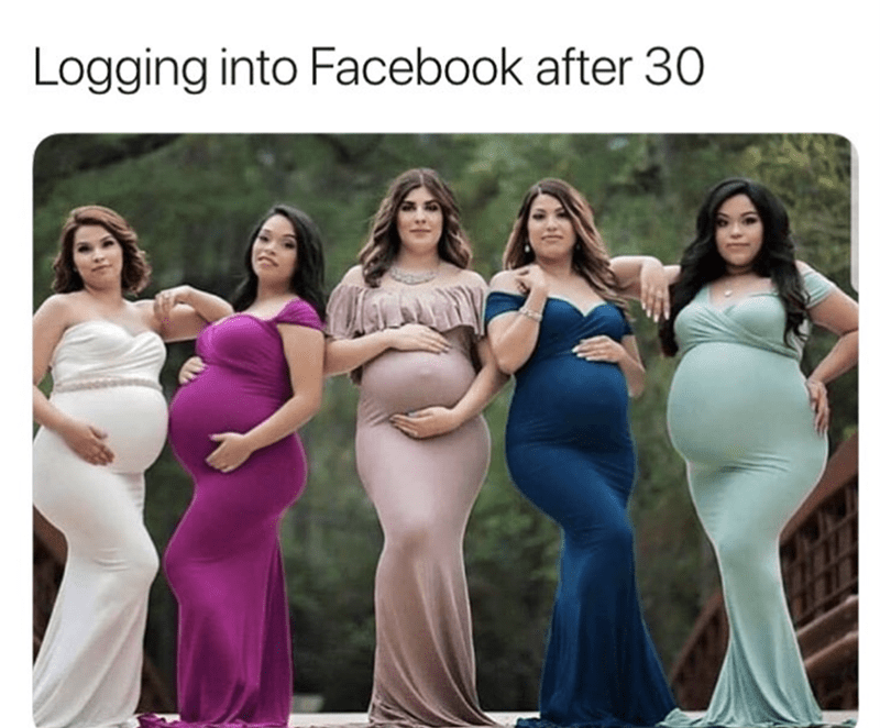 Clothing - Logging into Facebook after 30