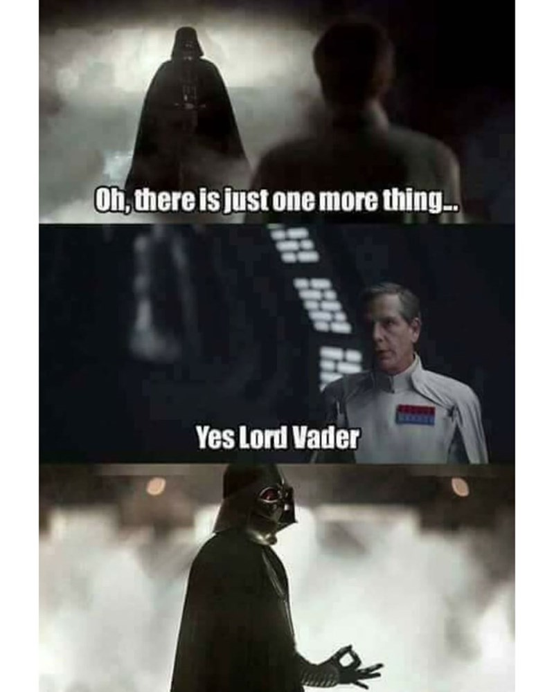 Funny Star Wars circle game meme, darth vader.