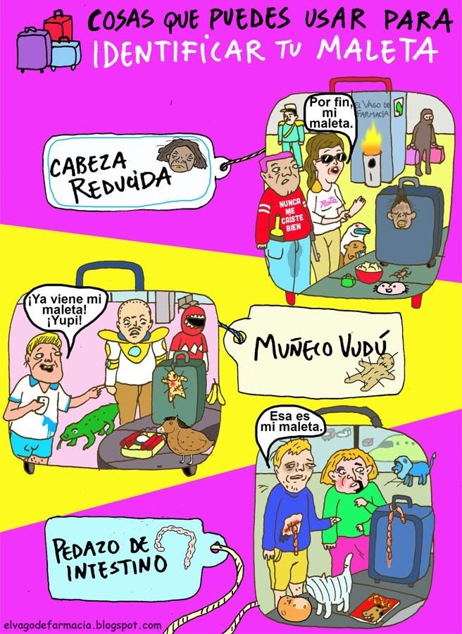 como puedes hacer para identificar maletas
