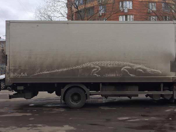 funny vandalism - Transport - RBay Mick