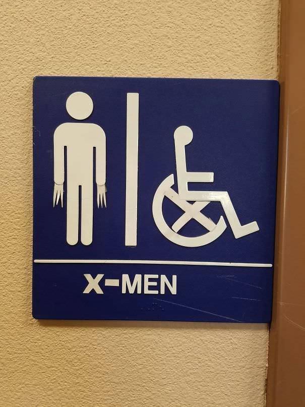 funny vandalism - Text - X-MEN