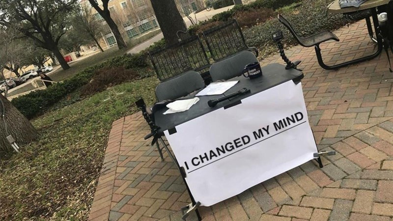 Funny meme about the change my mind steven crowder meme.