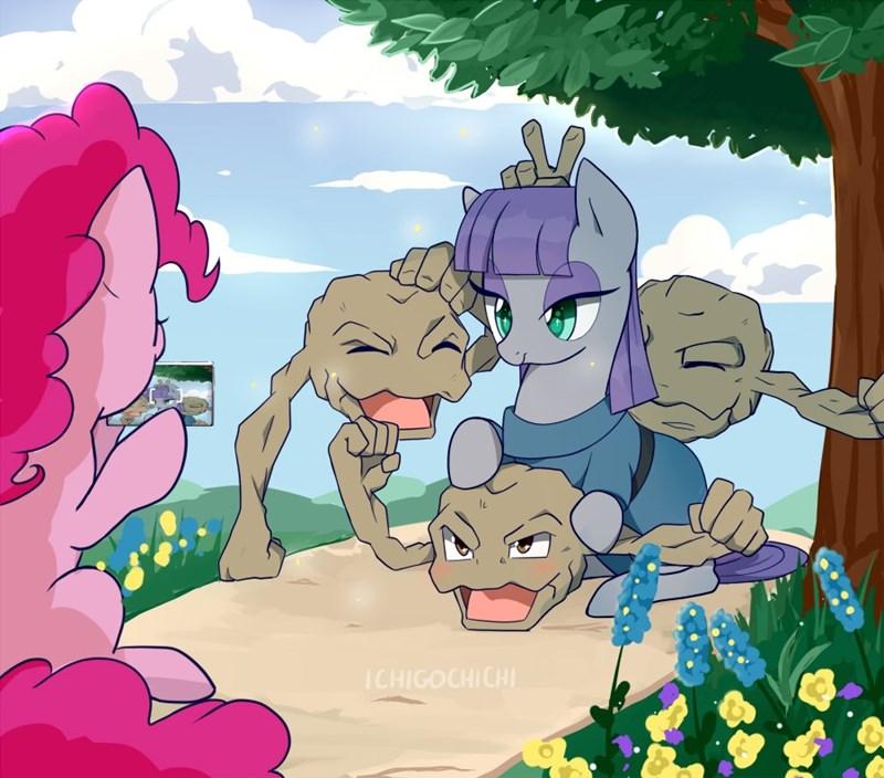 Pokémon pinkie pie maud pie - 9137967104