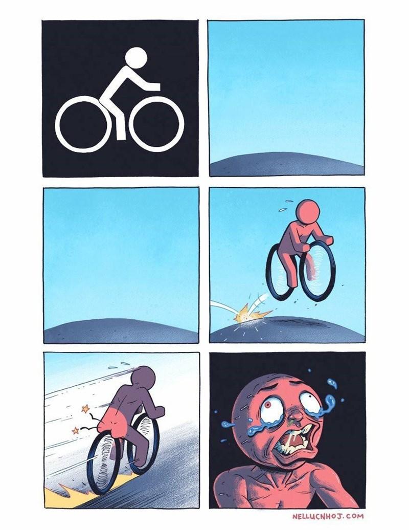 senales de ciclistas que son dificiles de entender