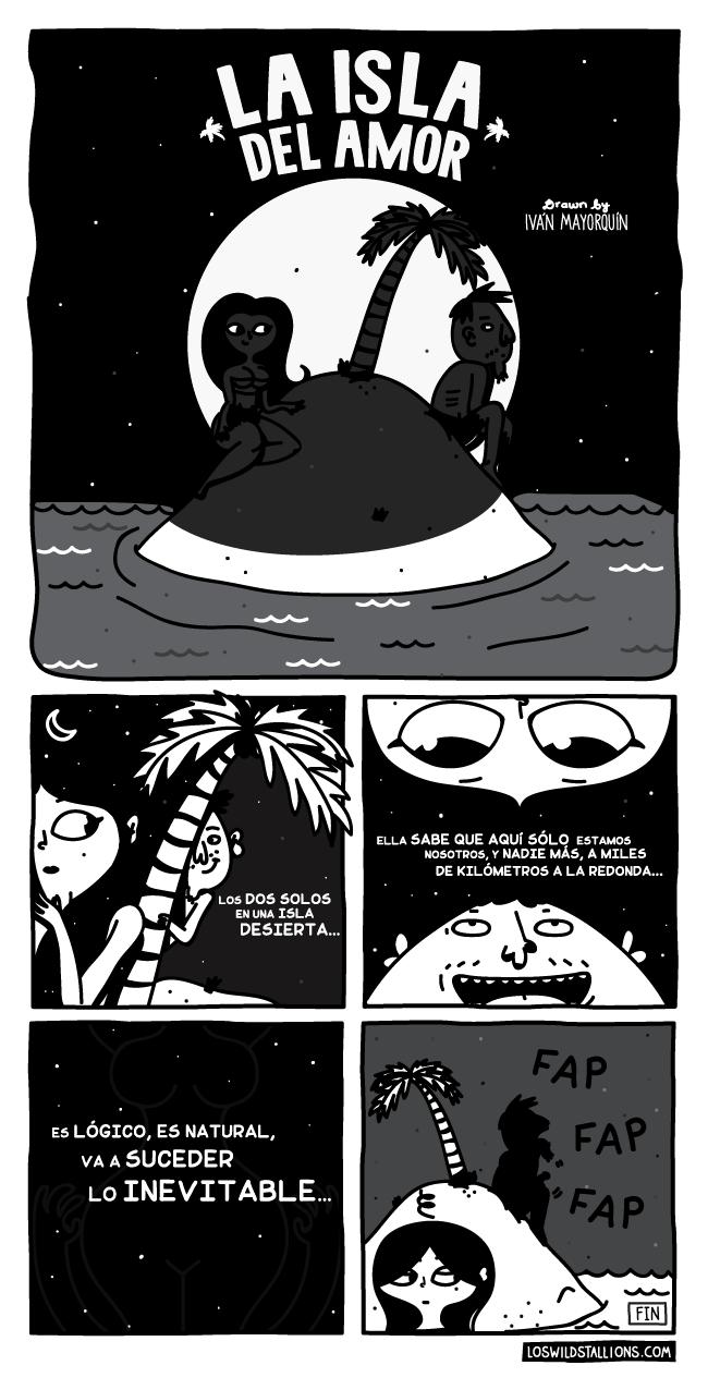 la isla del amor comic de loswildstallions