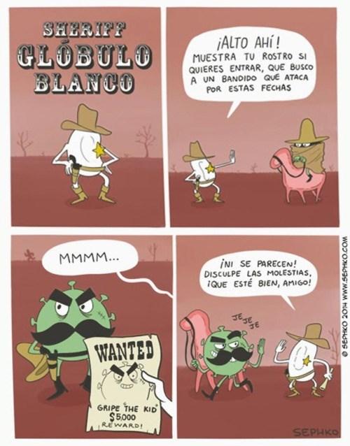 comic que explica como funcionan los virus