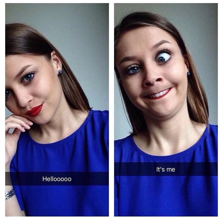 Face - It's me Hellooooo