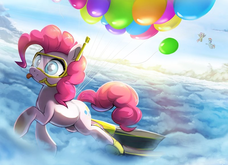 pinkie pie fidz fox fluttershy rainbow dash - 9139634944