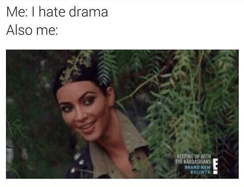 Hair - Me: I hate drama Also me: KEEPING UP WITH THE KARDASHIANS BRAND NEW #KUWTK