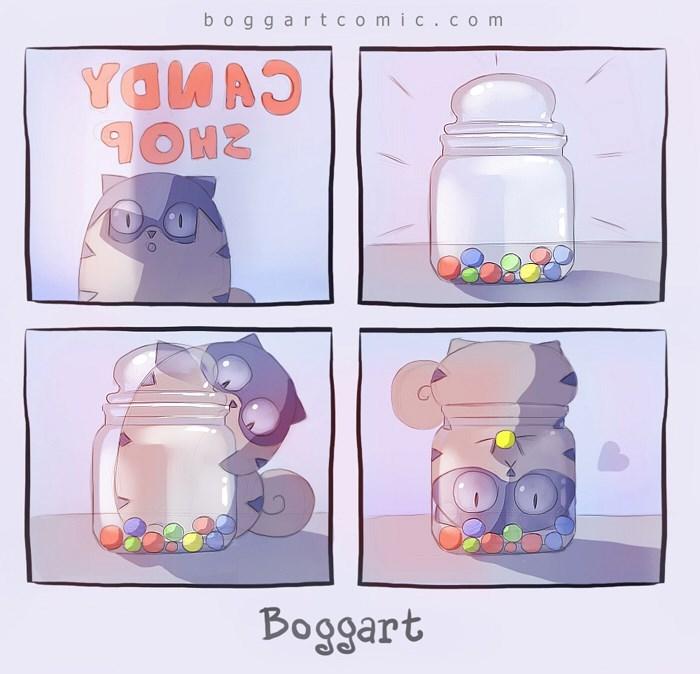 Product - boggartcomic.co m YAWA Boggart