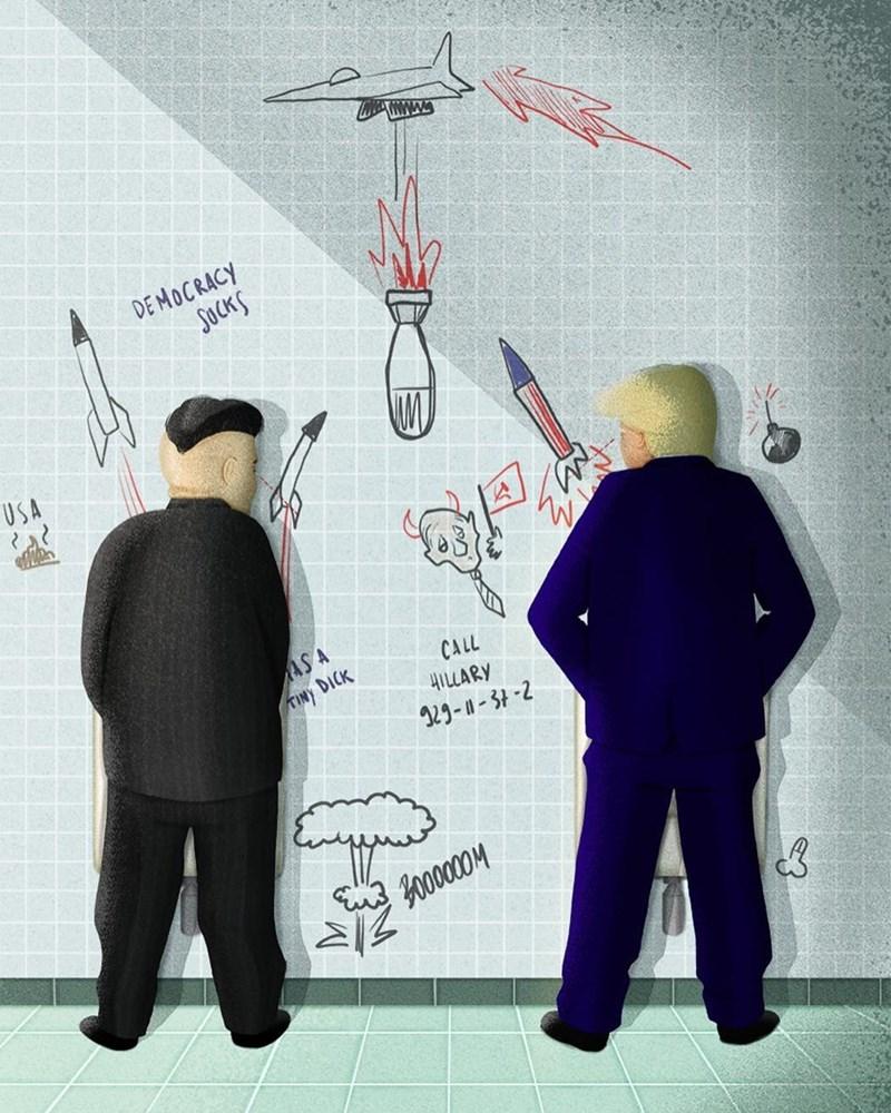 Illustration - DEMOCRACY SOCKS USA AS A TIN DICK CALL HLARY 2--3-2 Yoolaas
