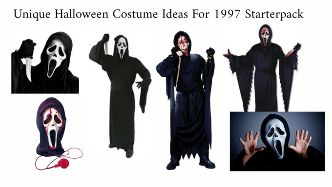 Abaya - Unique Halloween Costume Ideas For 1997 Starterpack