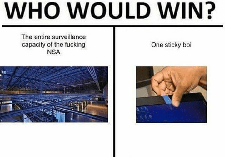 Funny meme about the NSA.