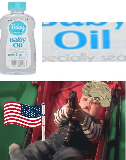 america invading for oil - Product - Baby Oil Baby Oil specialy seals n molsture pure & gentle ss 192m) ecially sea S155921 8