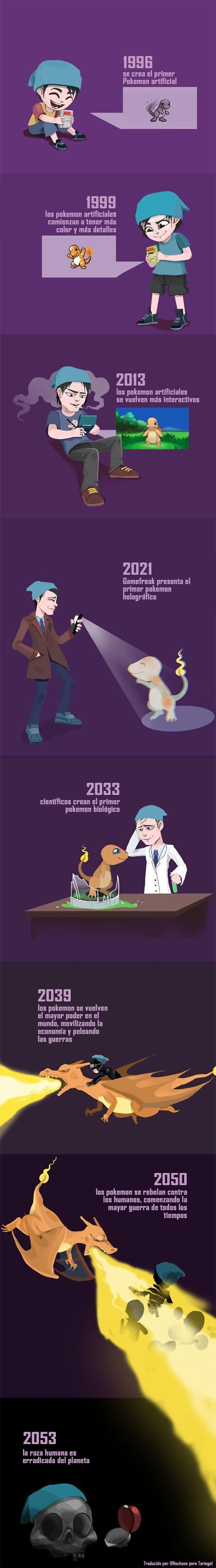 profecia del final de los tiempos segun pokemon