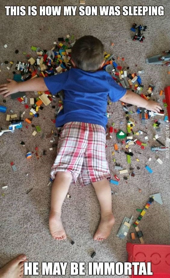 Play - THIS IS HOW MY SON WAS SLEEPING HE MAY BE IMMORTAL VIA SLOWROBOT COM