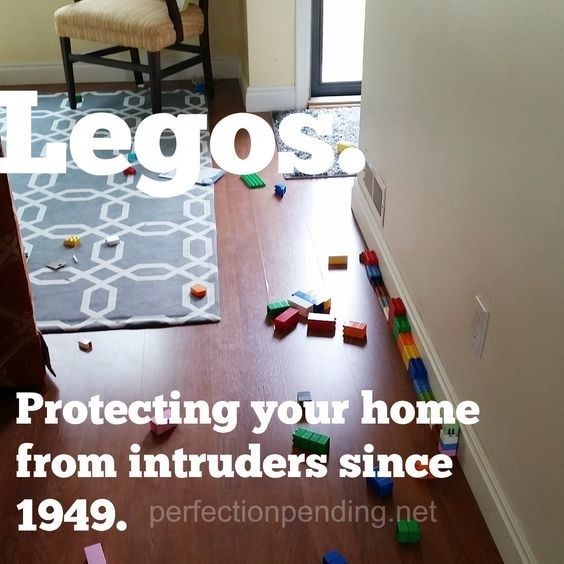 Floor - Legos Protecting your home from intruders since 1949. perfection pending.net