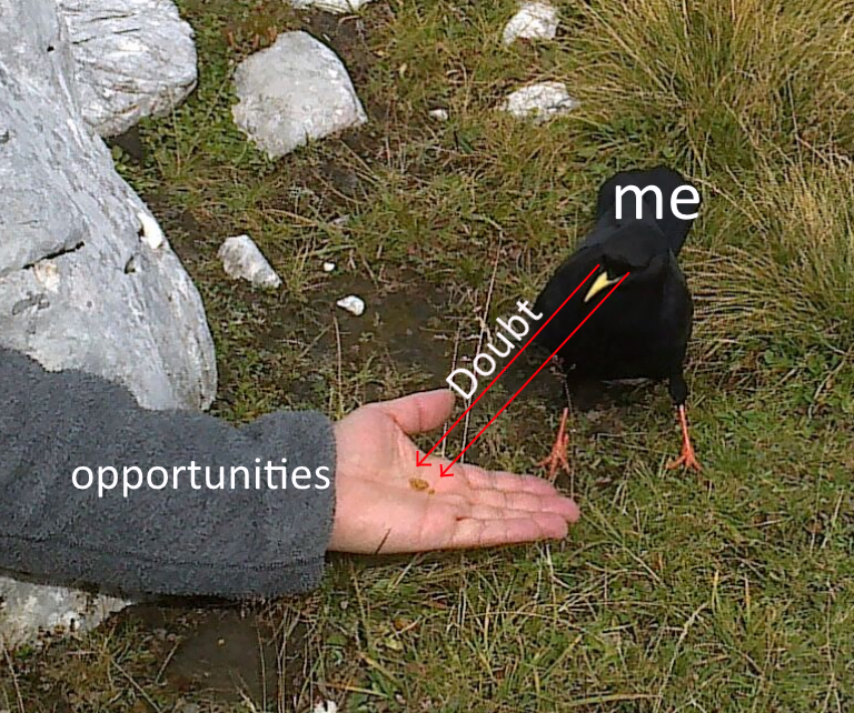 Funny meme about opportunity.