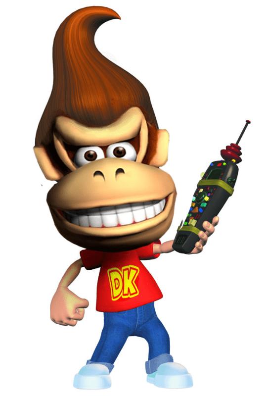 cursed image donkey kong monkey