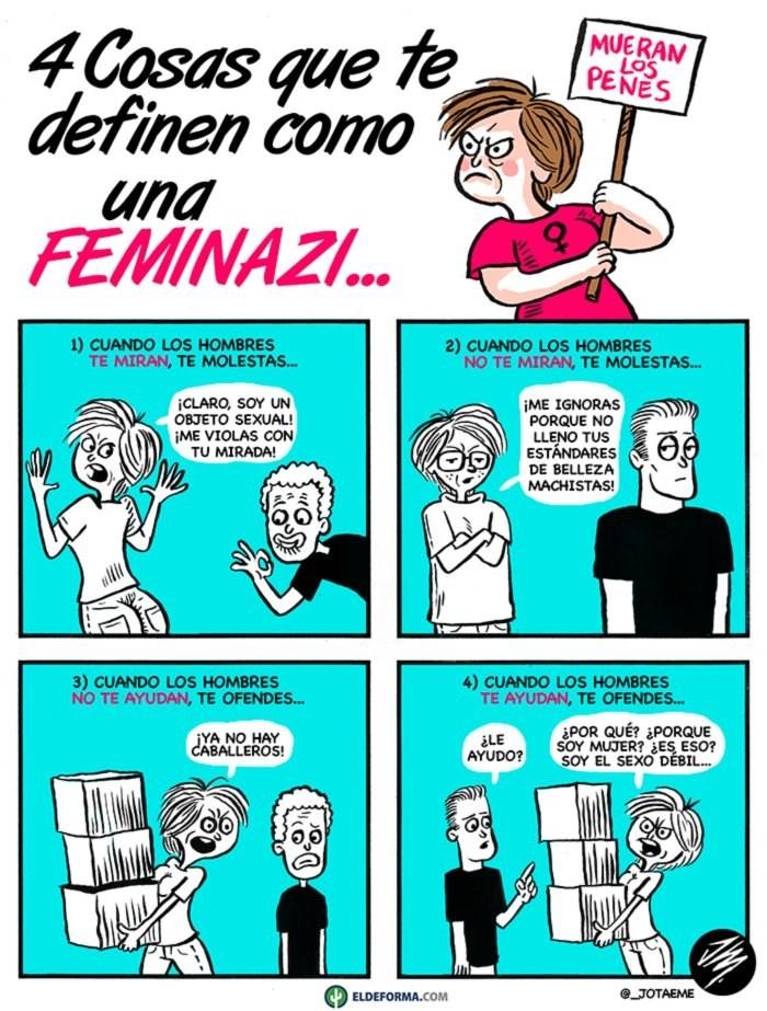4 cosas que te definen como una feminazi