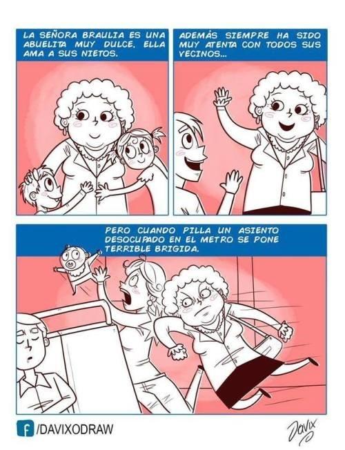 las abuelas se transforman impresionante