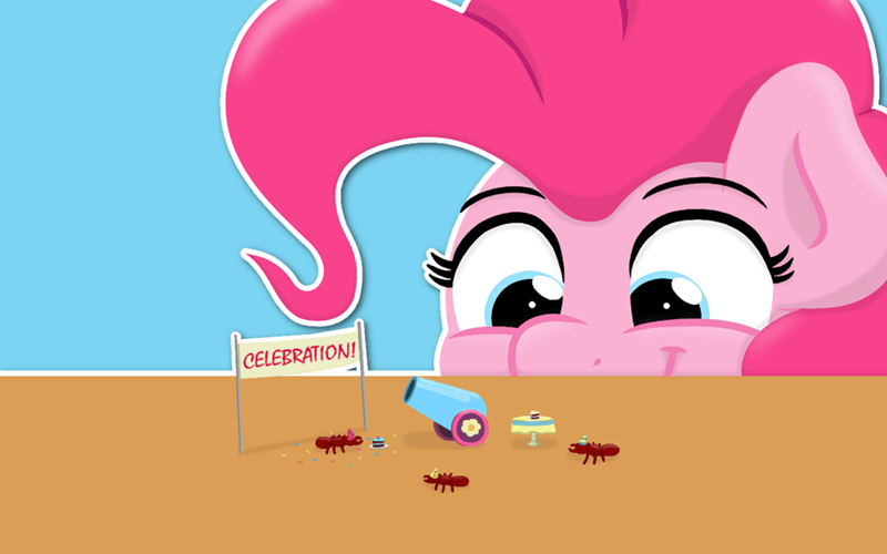 what is this a party for ants jandamz pinkie pie school daze - 9142502912