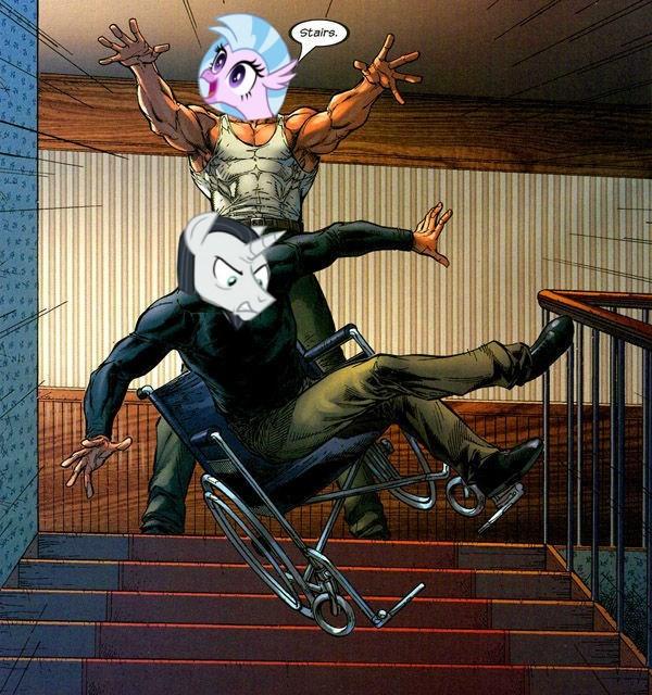 professor x has one weakness silverstream neighsay Memes ponify school daze - 9142504448