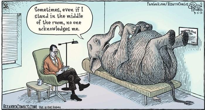 Cartoon - Facebook.com/BizarroComies, Sometimes, even if I stand in the middle of the room, acknowledges me. RaRo 9-2-12 no one BIZARROCOMICS.COM Dit.w Ks Rats