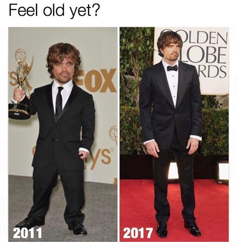 Funny meme about Peter Dinklage.