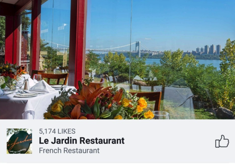 picture restaurant le jardin french restaurant