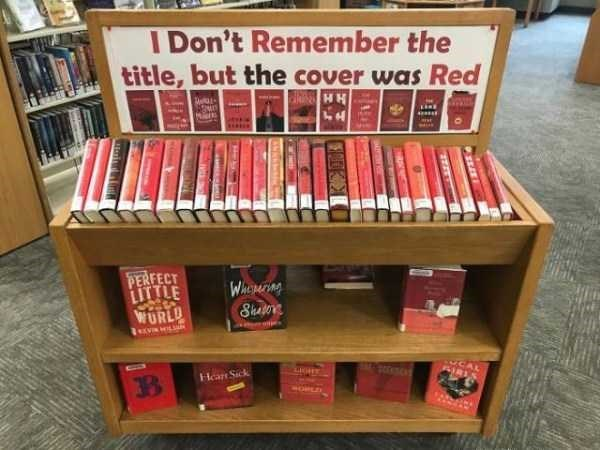 librarian memes - Shelf - I Don't Remember the title, but the cover was Red PERFECT LITTLE WORLD WhePATine CAL Hear Sick