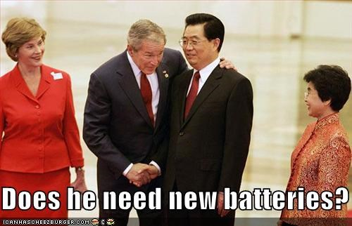 China george w bush Hu Jintao Republicans - 914350336