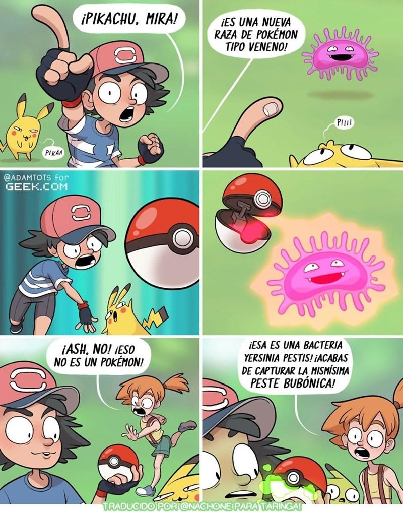 cuando ash atrapa el pokemon que no debia