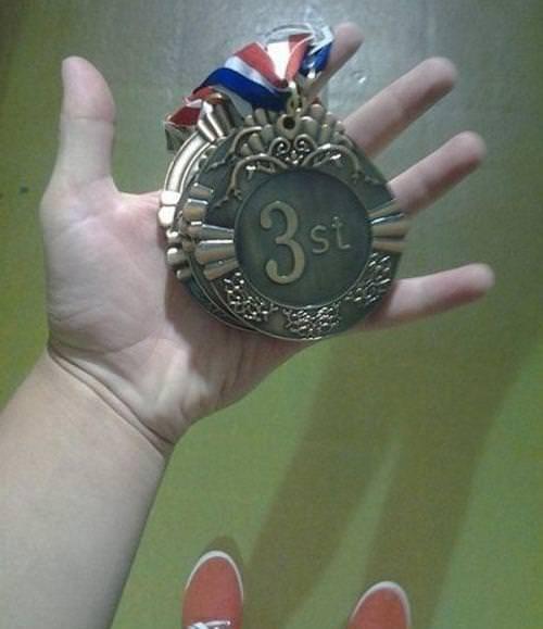 Medal - 3 st