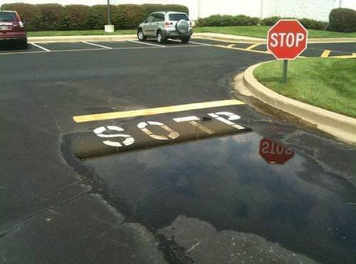 Road - STOP SOTP
