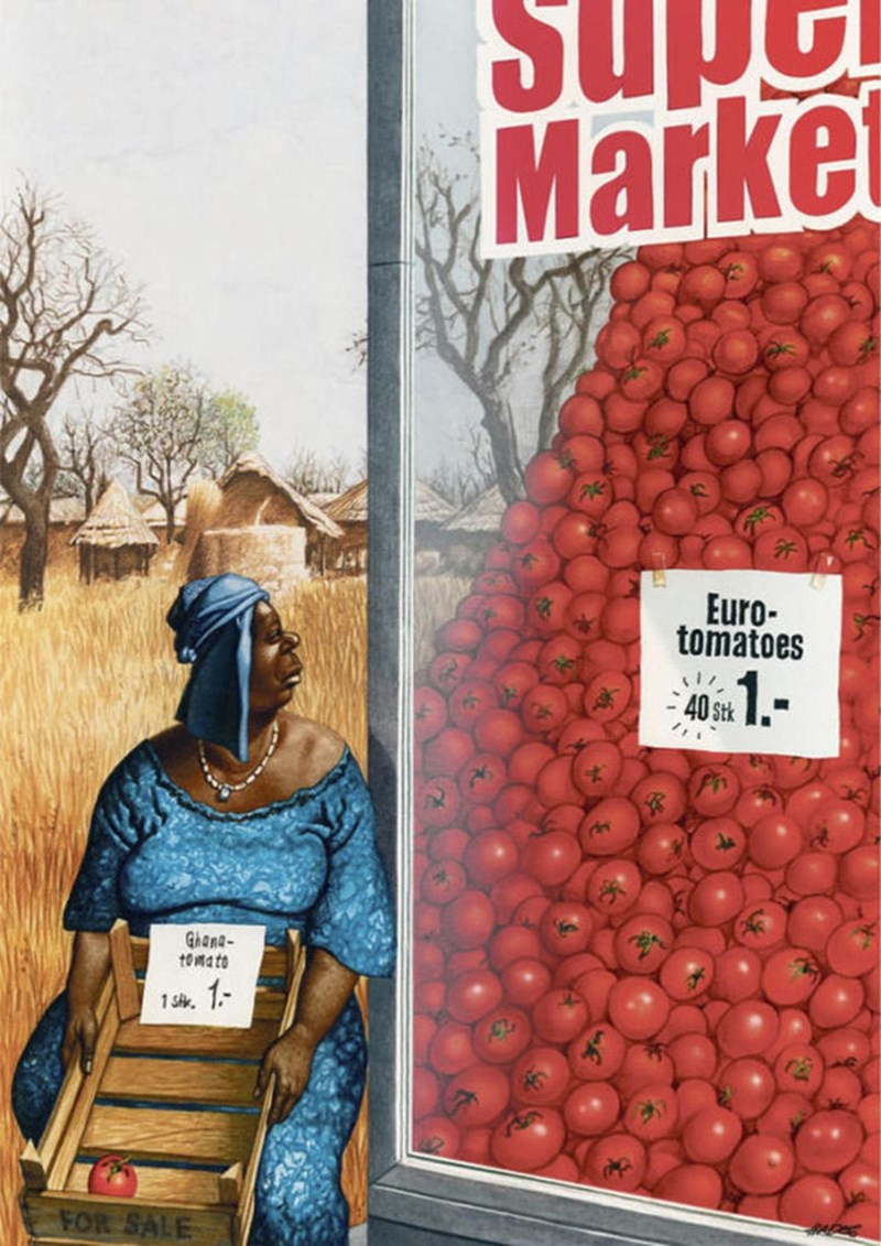 Fruit - Market Euro- tomatoes 40S Ghana tomato 1- 1 SA FOR SALE RAS