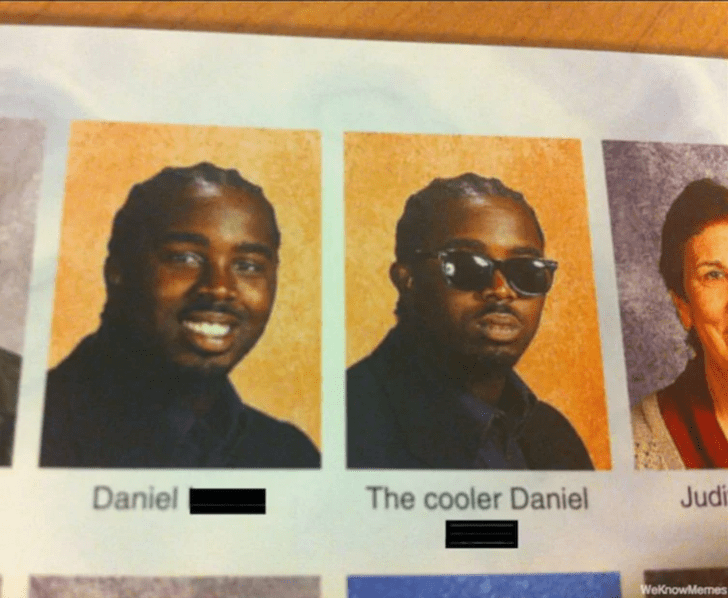 Face - Daniel The cooler Daniel Judi WeKnowMemes