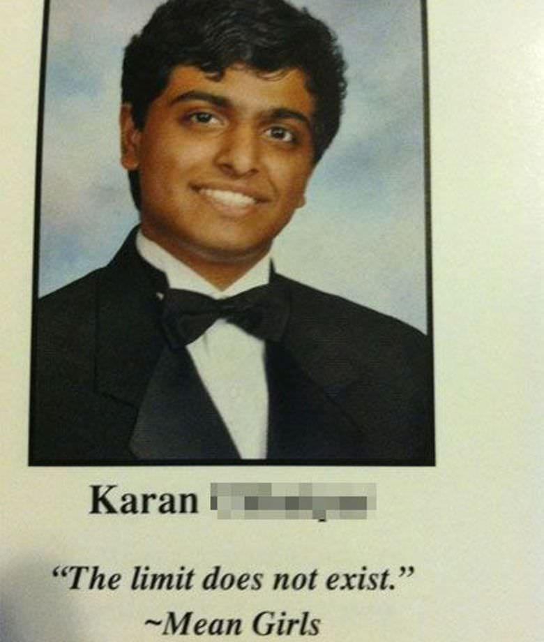 "Gentleman - Karan ""The limit does not exist."" Mean Girls"