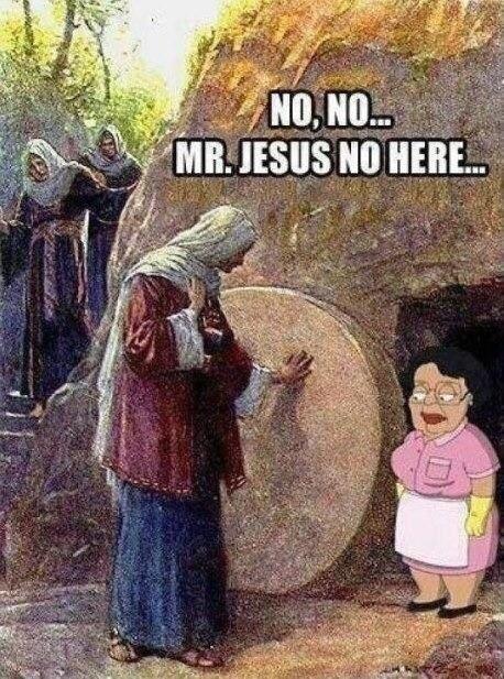 jesus meme - Adaptation - NO NO MR.JESUS NO HERE.