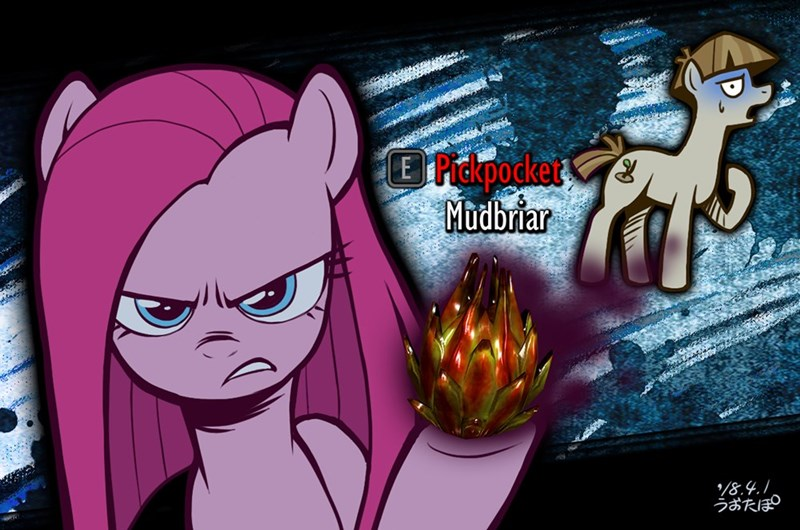 the maud couple pinkamena diane pie the elder scrolls pinkie pie uotapo mudbriar Skyrim - 9146427904