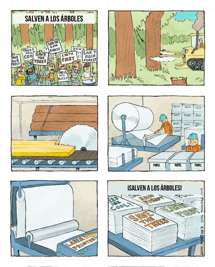 ironias de la vida nivel ambientalista