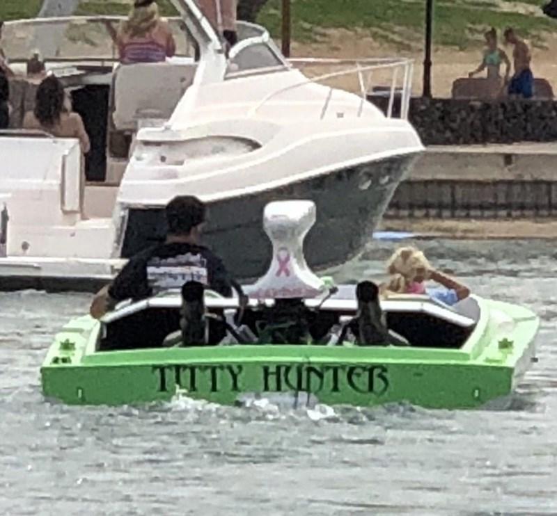 Water transportation - TITTY HUNTER