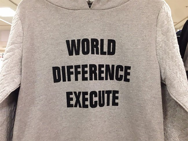 Clothing - WORLD DIFFERENCE EXECUTE