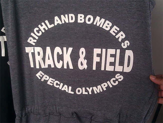 Font - RICHLAND BOMBERS TRACK&FIELD EPECIAL OLYMPICS
