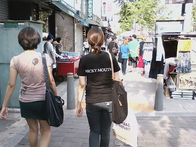 Photograph - MICKY MOUTH TANDARD DEISEY 튼옷입구~ AO