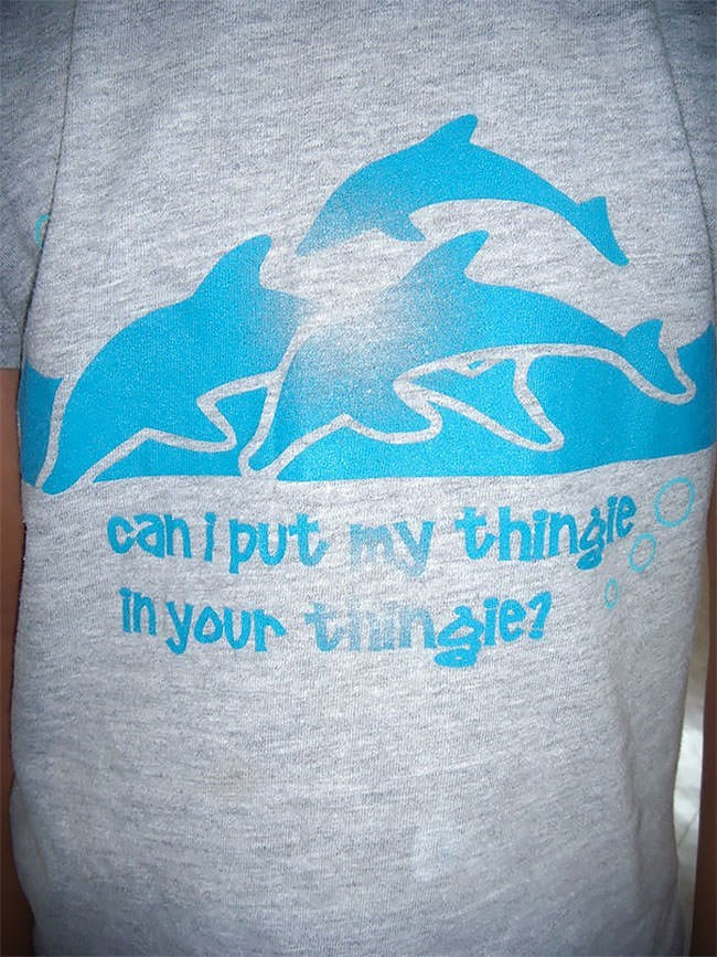 Blue - canl put my thinge In your tin le1