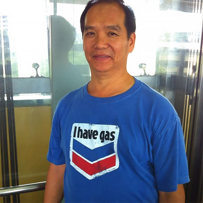 T-shirt - Ihave gas