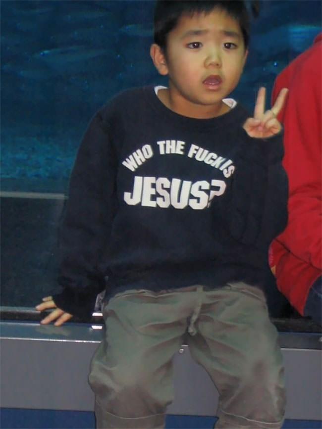 Child - WHO INE FUCKIS JESUS